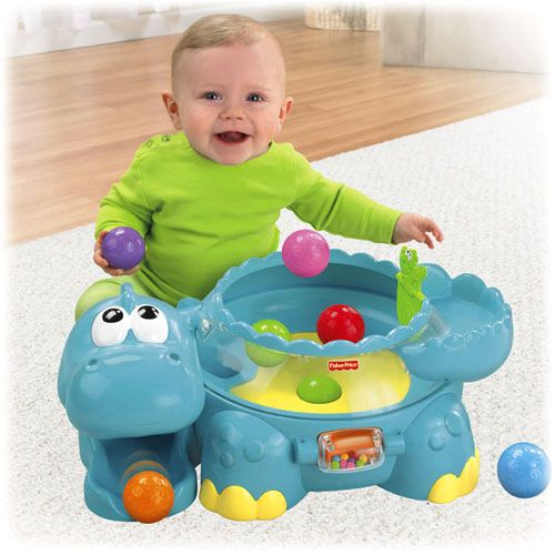 Go Baby Go Poppity Pop Musical Dino Toys By Age Fisher Price Baby Toys Age Appropriate Toys