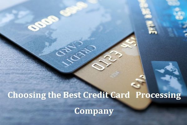 The Best Credit Card Processing Company Should Offer Services