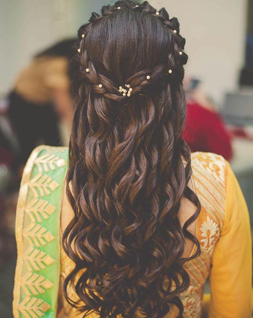 hairstyle for short hair | wedding hair flair | long hair
