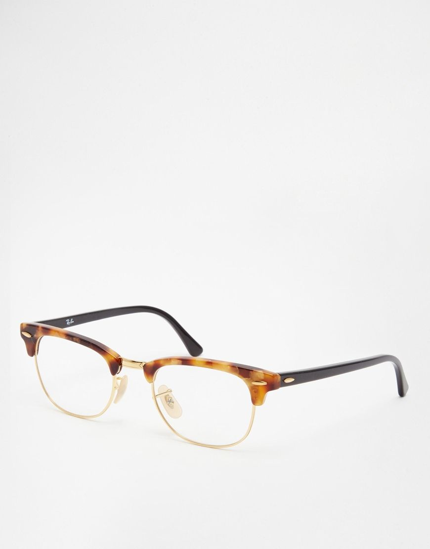 Image 1 of Ray-Ban Clubmaster Glasses   wish~list   Pinterest ... 2a1ccb54d0