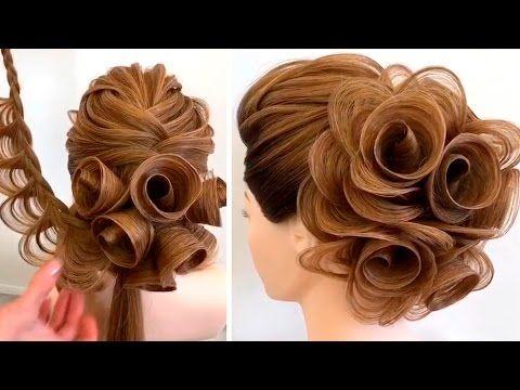 Amazing Hairstyles Tutorials By Georgiy Kot 2017 Youtube Pricheska Dlya Konkursa Volosy Dlinoj Bolshe Srednego Idei Dlya Volos
