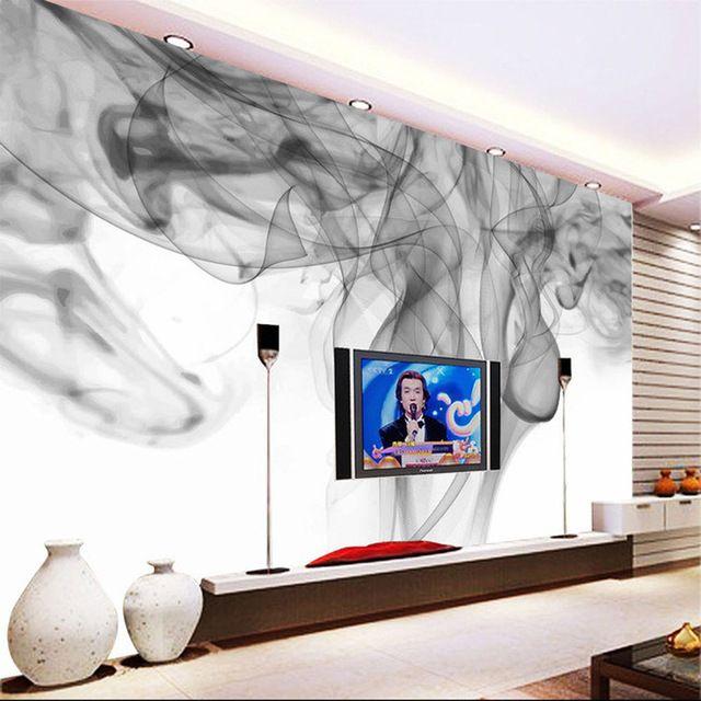 Fantasy Smoke Fog Wallpaper Personalized Custom 3d Photo Wallpaper Modern Wall Murals Kids Bedroom Living Room