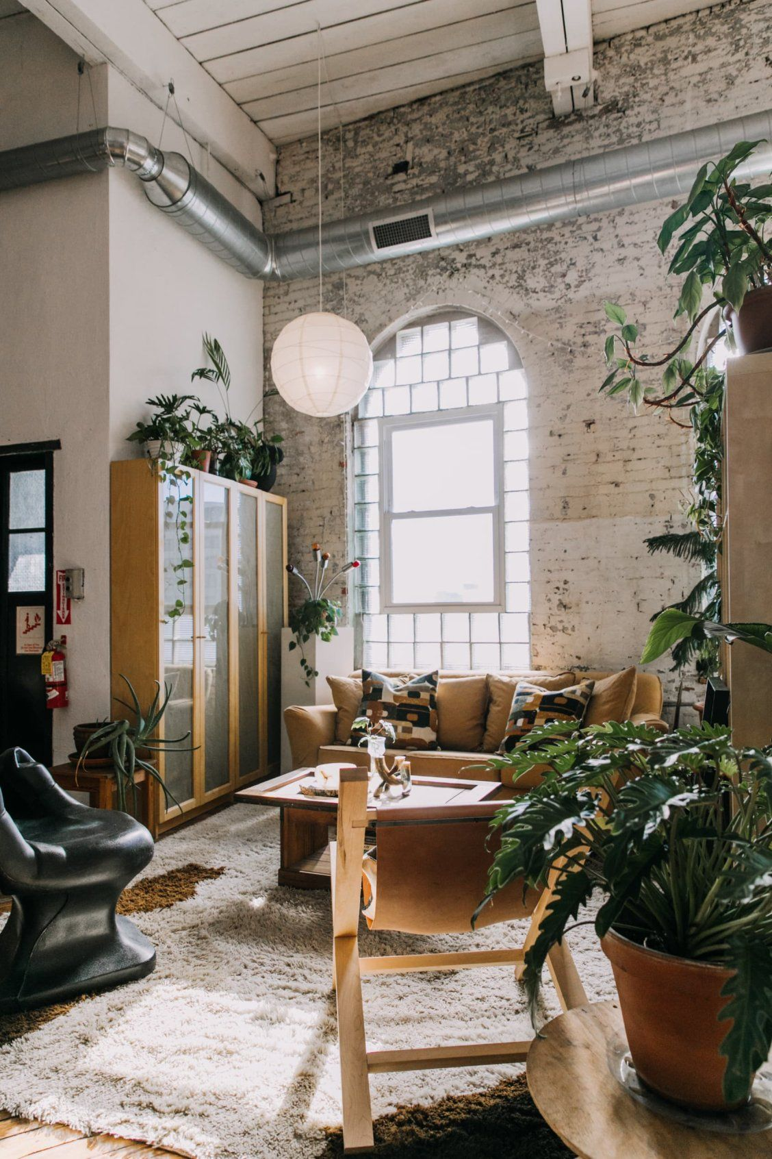 Photo of A Sunny, Stunning Loft Apartment in an Old Textile Factory