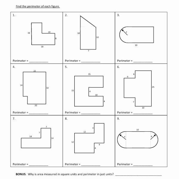 25 area Of Composite Figures Worksheet 7th Grade posite ...