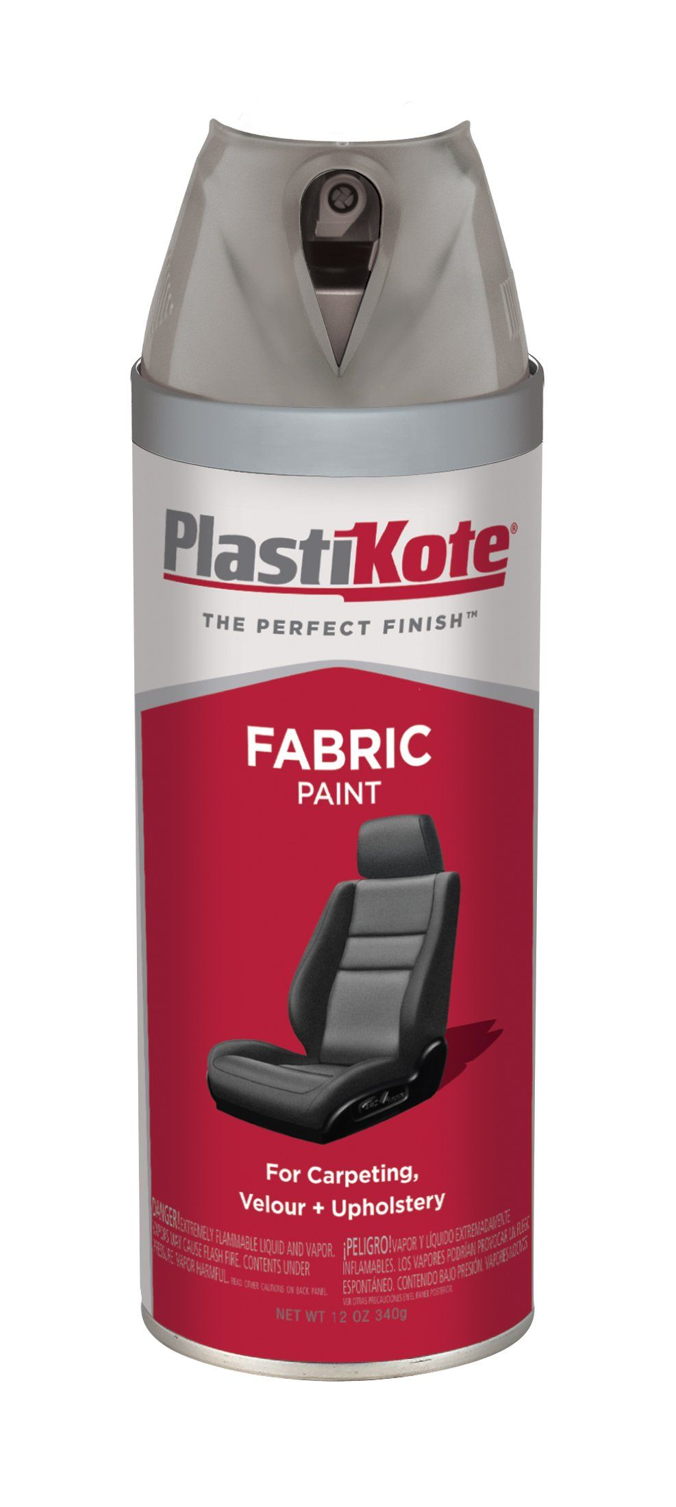 Plasti Kote 512 Slate Gray Fabric Paint 12 Oz Vinyl Painted Grey Fabric Fabric Paint