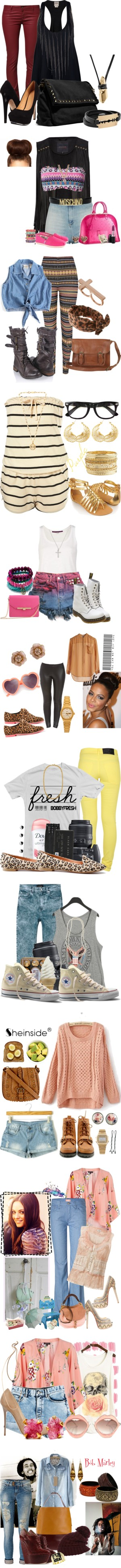 """""""Streets"""" by positivefemtalk ❤ liked on Polyvore"""