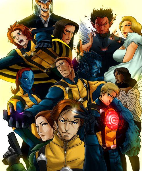 X Men First Class Fan Art X Men Best Comic Series Fun Comics