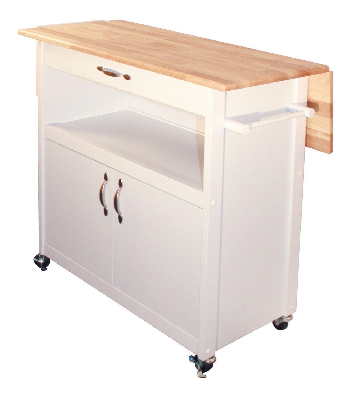 Amazon Com Catskill Craftsmen Drop Leaf Utility Cart Kitchen Islands Carts Kitchen Island Storage Kitchen Cart Rolling Kitchen Island