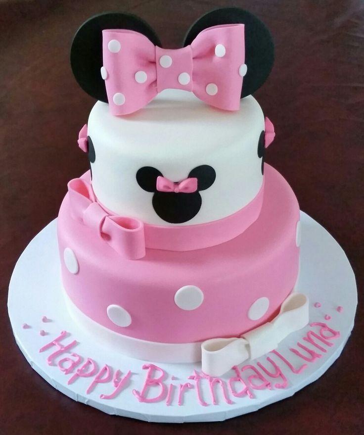 Minnie Mouse Cake Ideas Minnie Mouse Birthday Party Ideas Mickey Mouse Disney Daisy Duck M Minnie Mouse Birthday Cakes Minnie Cake Cool Birthday Cakes