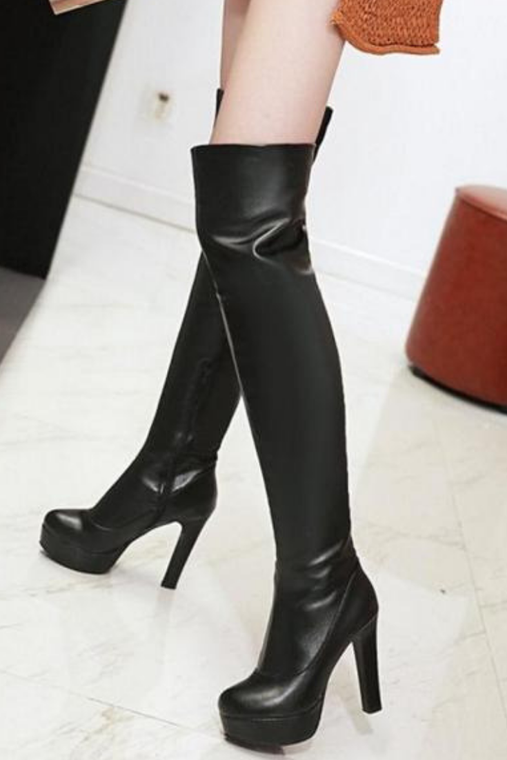 2b6b6712d33 OVER THE KNEE HIGH BOOTS HIGH HEEL BOOTS  Want a trendy new pair of over