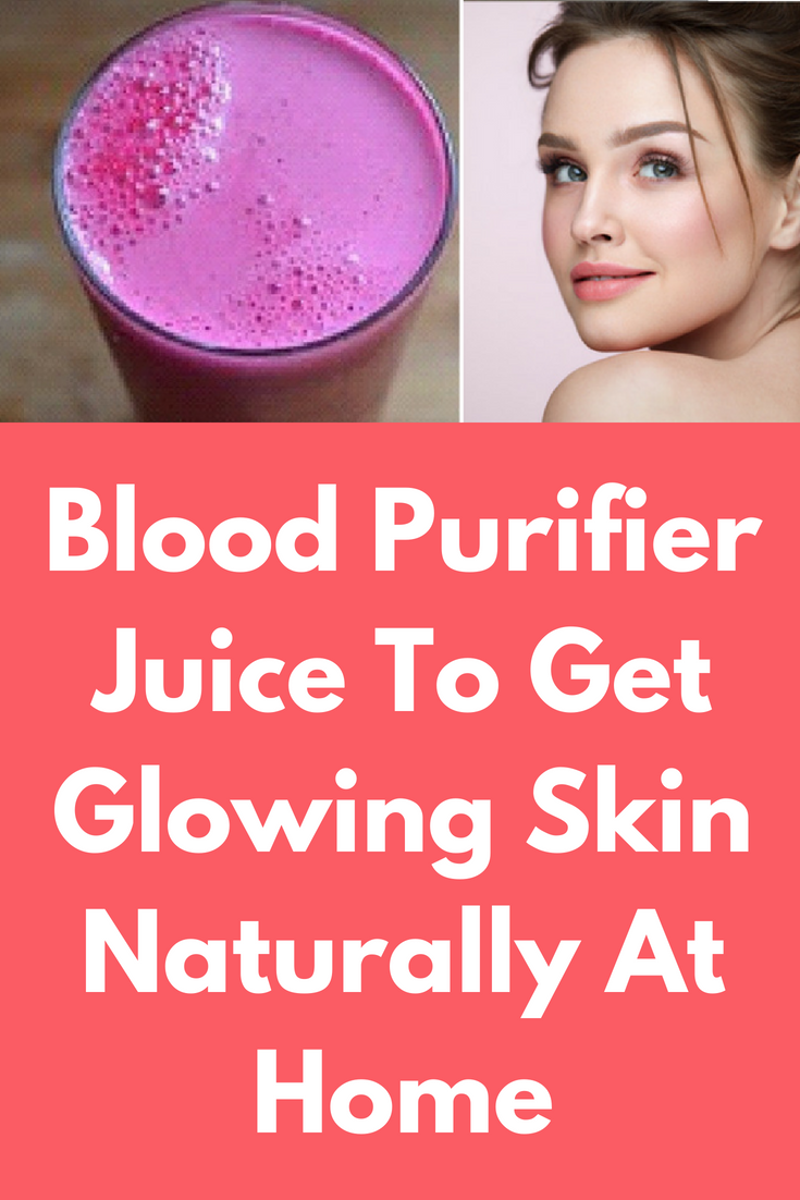 1 glass of this blood purifier juice daily and within a week your