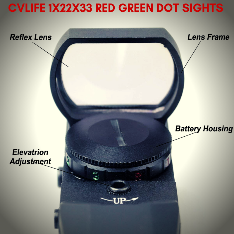 This Is A Cheap Red Dot Sight There S No Auto On Auto Off You Turn It Off By Turning The Dial To R Or G It Has 5 Intensity Setti Red Dot Sight Red