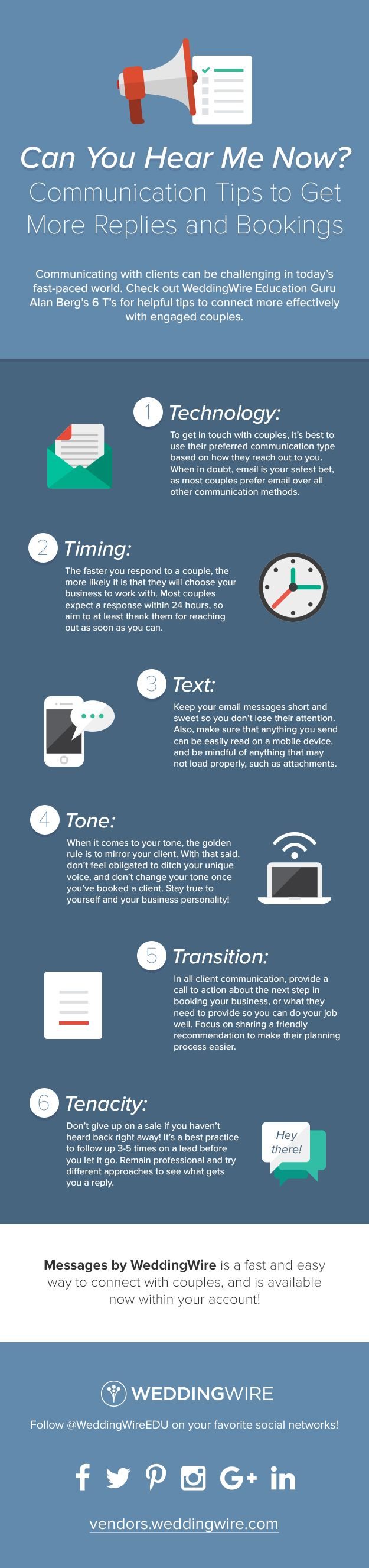 Can You Hear Me Now? Client Communication Tips #Infographic