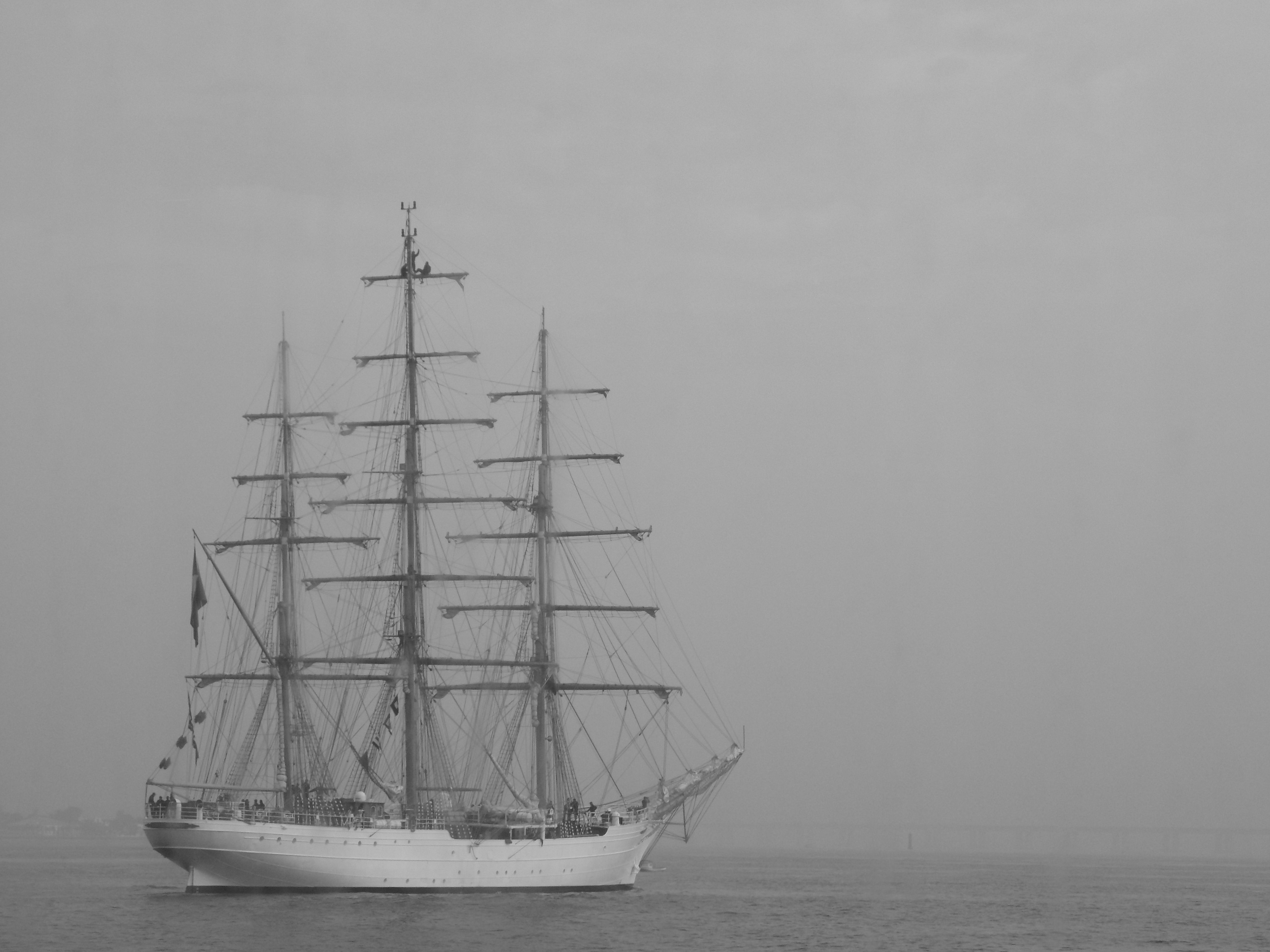Navio Veleiro da Marinha do Brasil.
