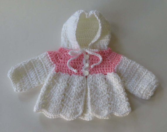 db02ffbb3 Crocheted Baby Sweater