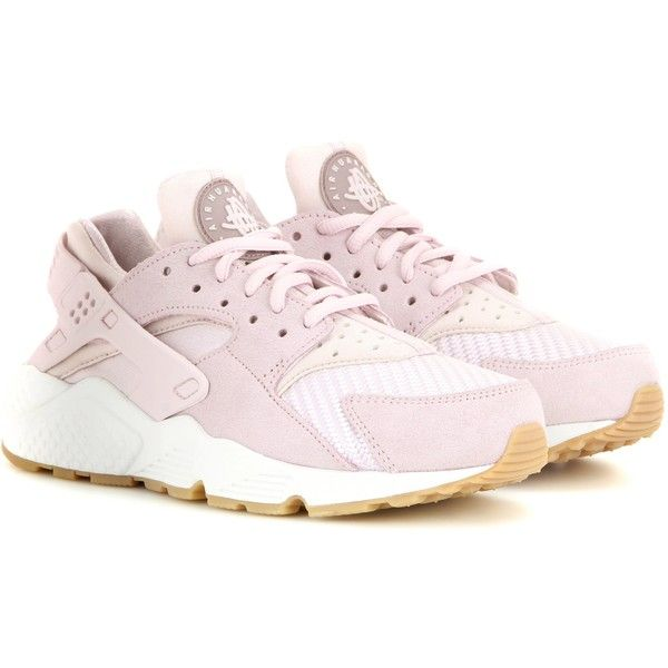 pretty nice eb71a 0ff93 Nike Nike Air Huarache Run Txt Sneakers (€120) ❤ liked on Polyvore  featuring shoes, nike, nike shoes, lavender shoes and nike footwear