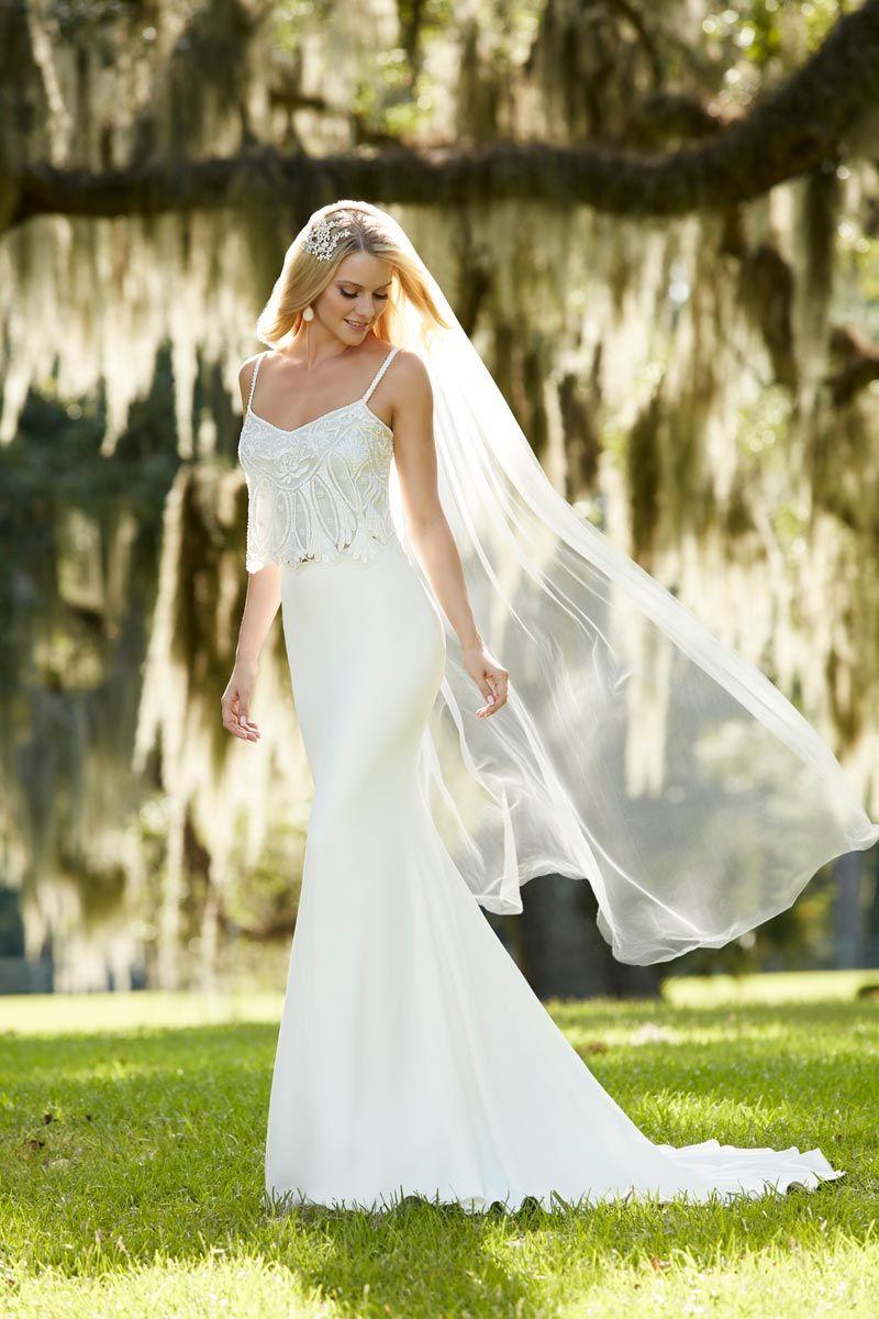 Boho Wedding Dresses: 47 Beautiful Designs | Weddings, Wedding dress ...