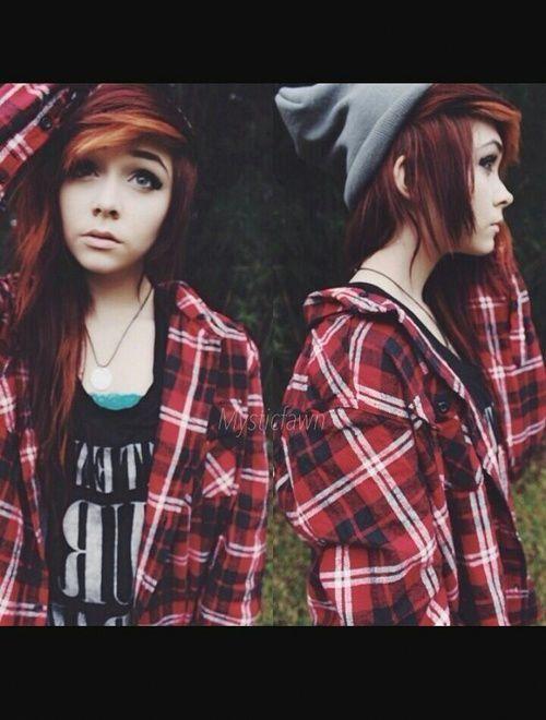 Photo of girl, hair, and emo image #EmoFashion