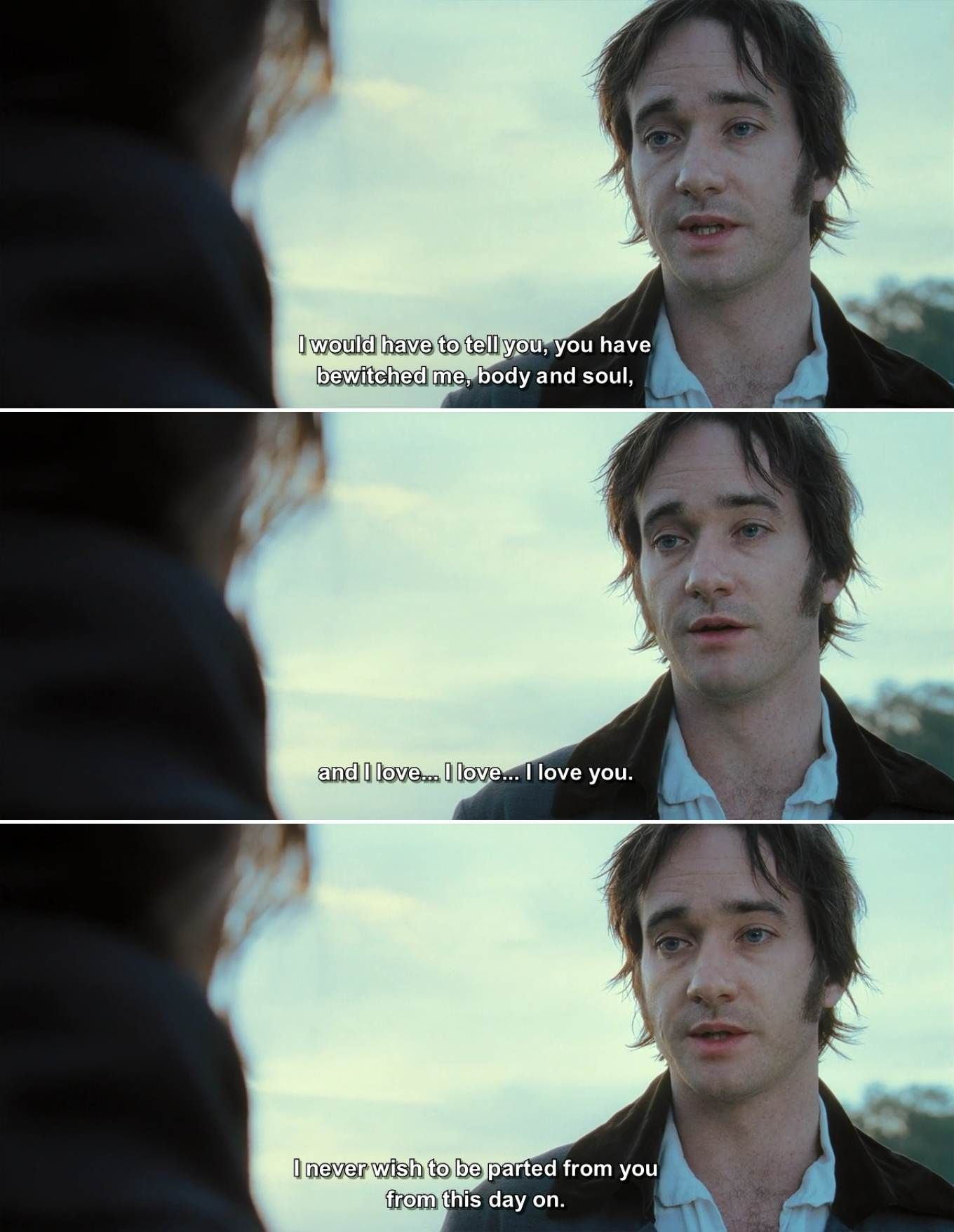 quotes, movie quotes, pride and prejudice 2005, pride and prejudice, pride and prejudice movie #prideandprejudice