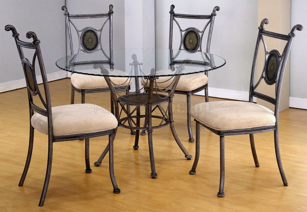 Kitchen: Fascinating Glass Dining Table Set The Range Also Glass Kitchen  Table With Rolling Chairs