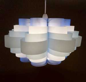 Great Art Lamps Made Out Of Waste Plastic Bottles Awesome Ideas