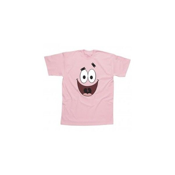 Spongebob Merchandise Patrick Star Pink Face T Shirt Liked On