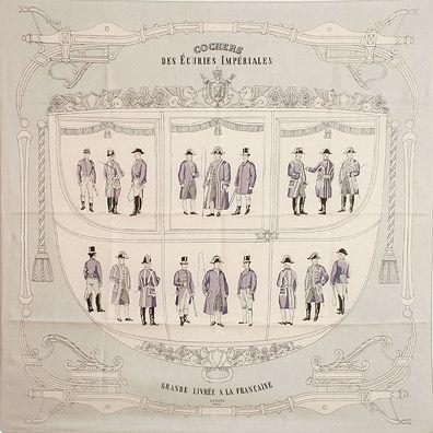 luxury-scarves.com 'Cochers des Écuries Impériales', Philippe Ledoux. 1954