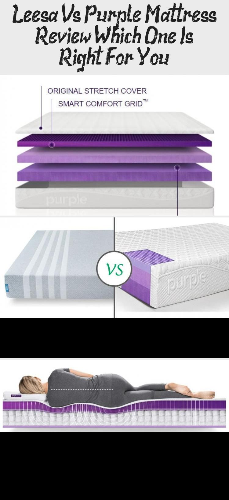 A Leesa Vs Purple Mattress Review Compares Both Mattresses For Differences We Spotted Very Few Pu In 2020 Purple Mattress Purple Mattress Reviews Mattresses Reviews