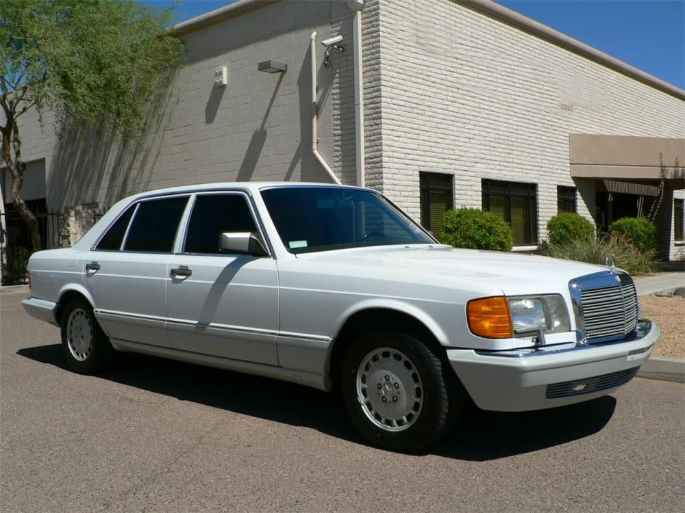 Sold At Scottsdale 2012 Lot 5 1990 Mercedes Benz 420sel Sedan Mercedes Benz Sedan Benz
