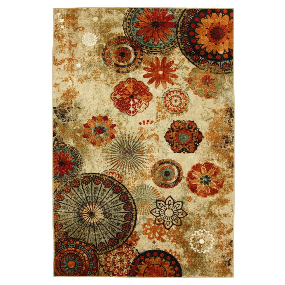 Porch Den Bexley Medallion Area Rug 7 6 X 10 With Images