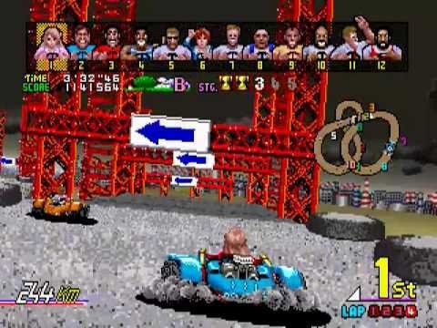 Power drift (1988) Excellent cette borne était souvent squattée. Il fallait être patient pour monter dans le superbe cockpit de la borne d'arcade