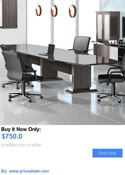 Office Furniture Modern Conference Room Table Boardroom - 14 ft conference table