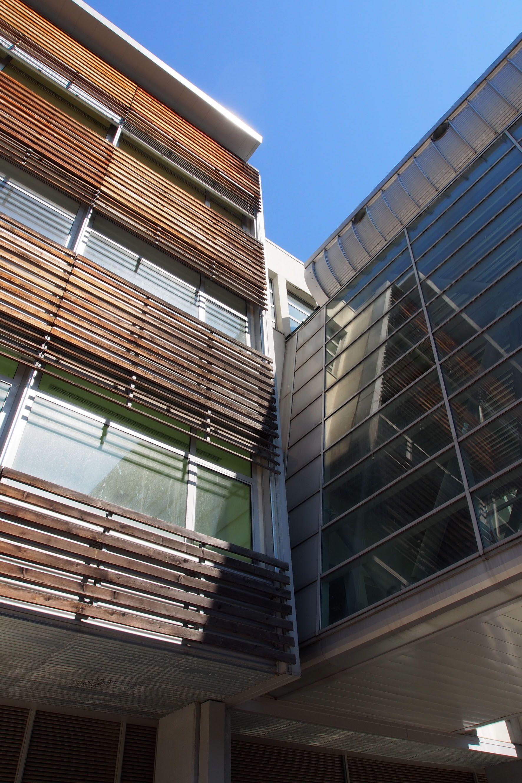 Dettaglio Architettonico Del Nuovo Ospedale Di Biella Visita Dell