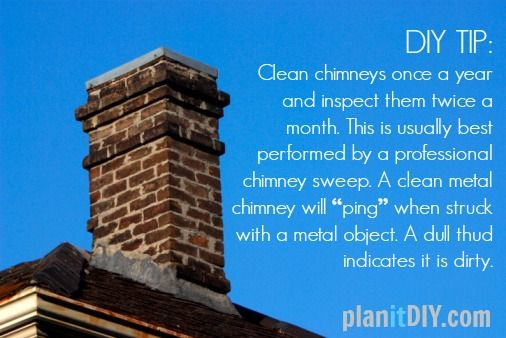 Tips To Ensure Your Chimney Is Clean Cleaning Chimney Cleaning How To Clean Metal