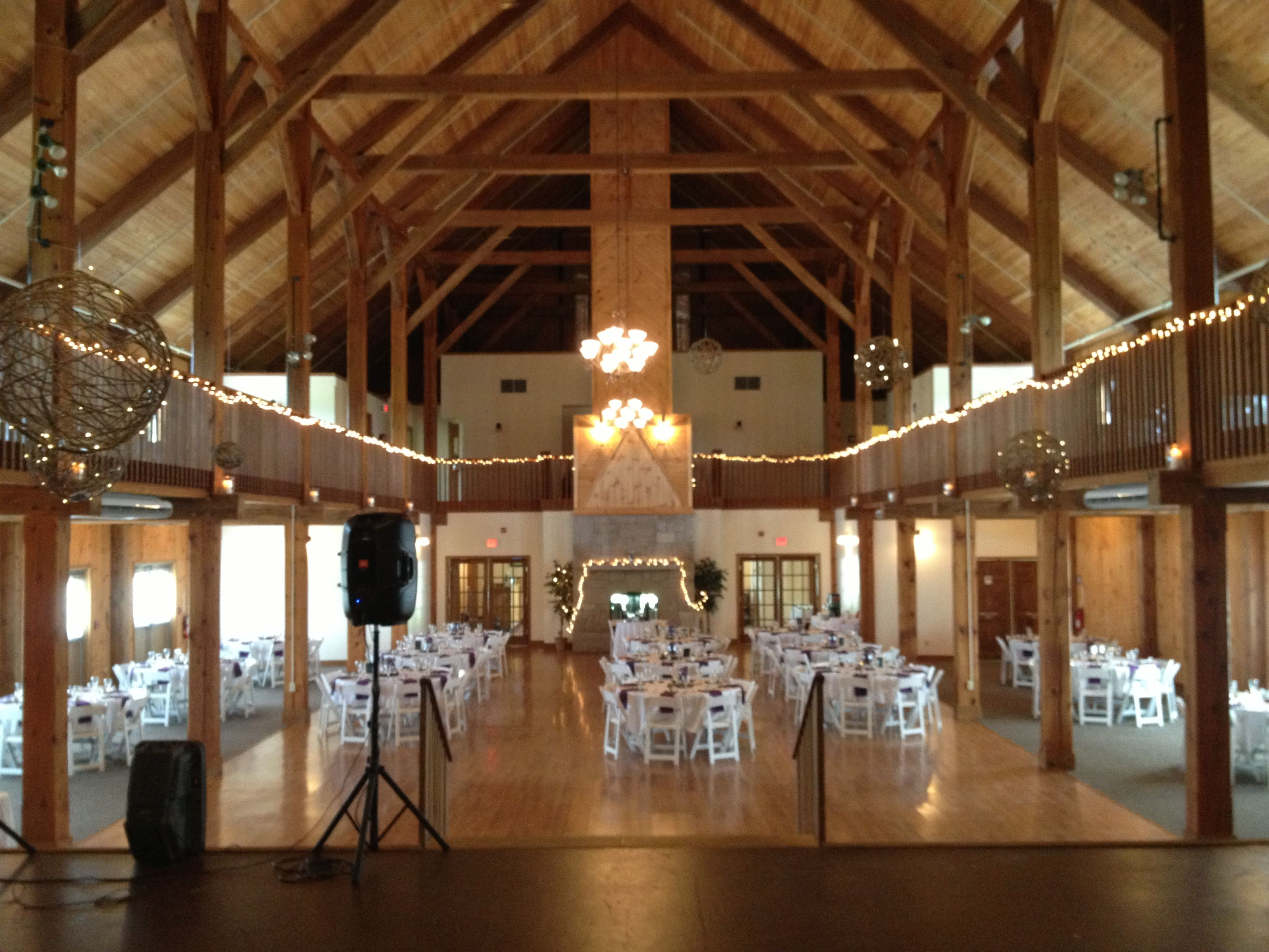 The Morgan Hill Event Center In Hermon Maine Very Nice Wedding Venue