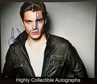 DOMINIC SHERWOOD SIGNED 8X10 PHOTO AUTOGRAPH SHADOWHUNTERS