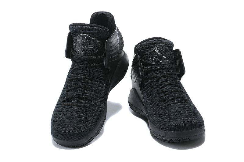 check out 26cc9 3f753 2018 Official Air Jordan 32 XXX2 Triple Black Basketball Shoes