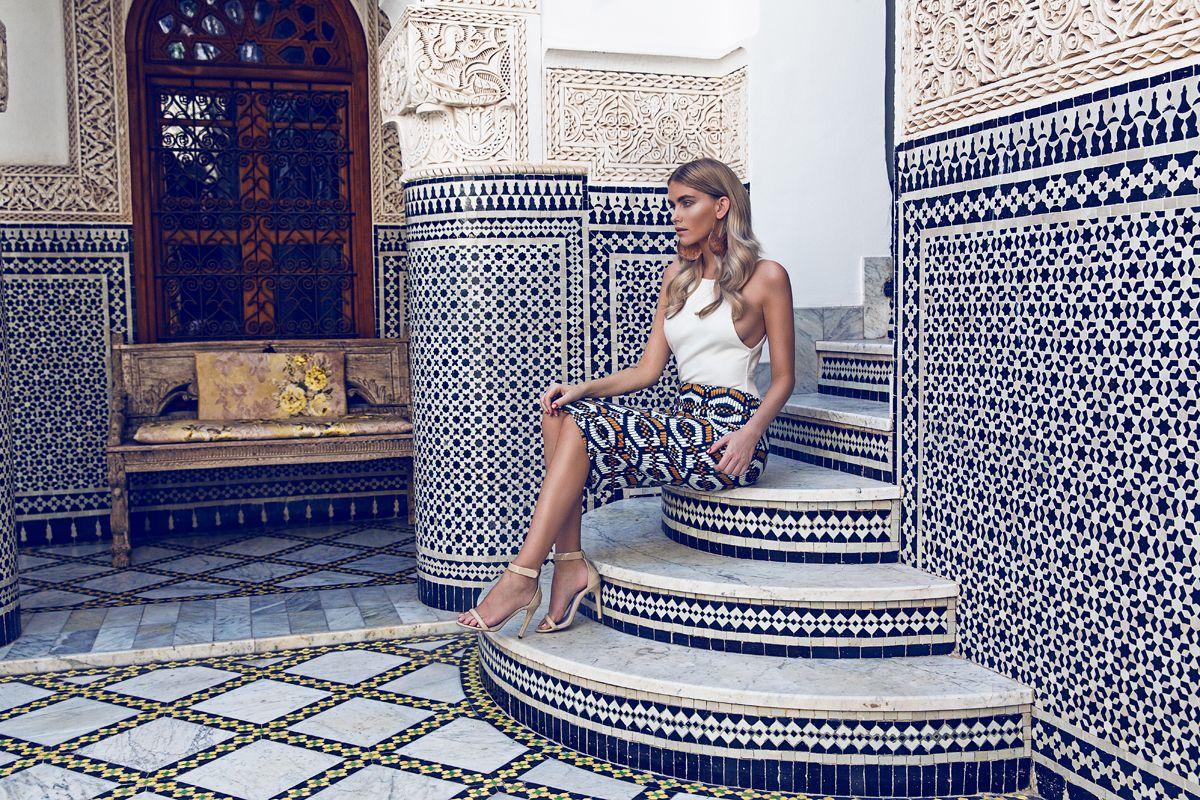 Campanha da marca BikBok,fotografada  em  Marrakesh.
