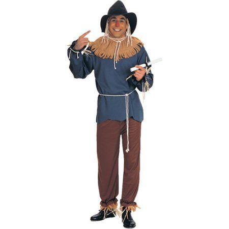 Scarecrow Adult Halloween Costume, Size Men\u0027s - One Size - scarecrow halloween costume ideas