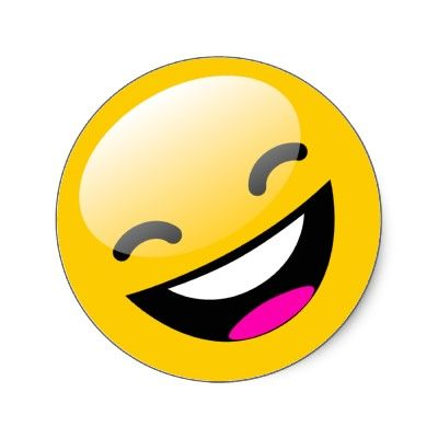 laughing smiley face clipart best laughing smiling pinterest rh pinterest com Sick Smiley Face Clip Art Confused Smiley Face Clip Art
