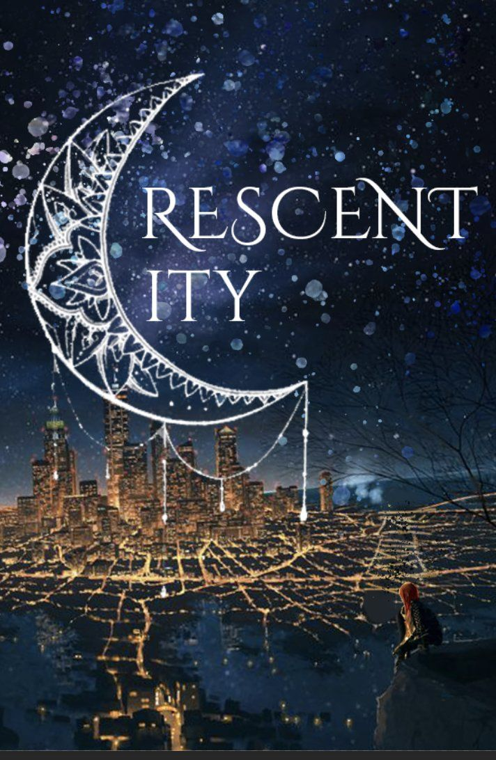 Crescent City Fancover By Maas Hk Crescent City A Court Of Mist And Fury Sarah J Maas Books