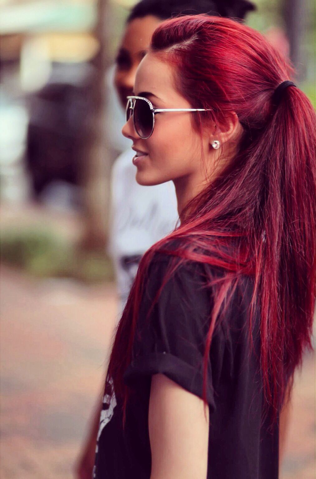 Easy Steps to Composting  Red style Hair coloring and Hair makeup