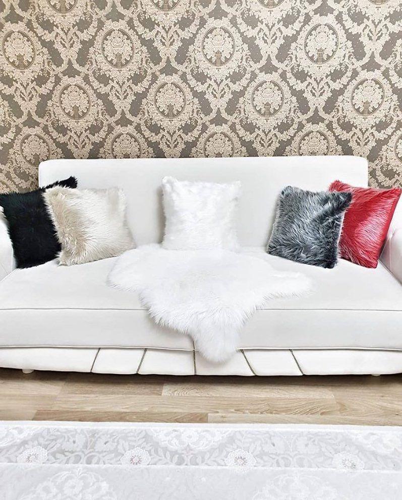 New The 10 Best Home Decor With Pictures Tuylu Pelus Model Dekoratif Kirlent Kilifi 4343cm Ozel Olcu Siparisi Alinir Love Seat Decor Home Decor