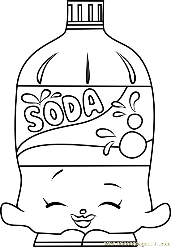 Soda Shopkins Coloring Page Shopkins Colouring Pages Shopkins Coloring Pages Free Printable Free Kids Coloring Pages