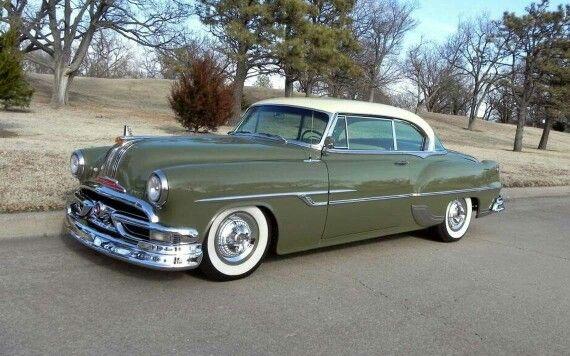1953 Pontiac Catalina Custom Hardtop Coupe | Carros clasicos ...