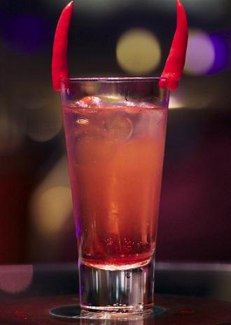 Cocktail halloween au rhum