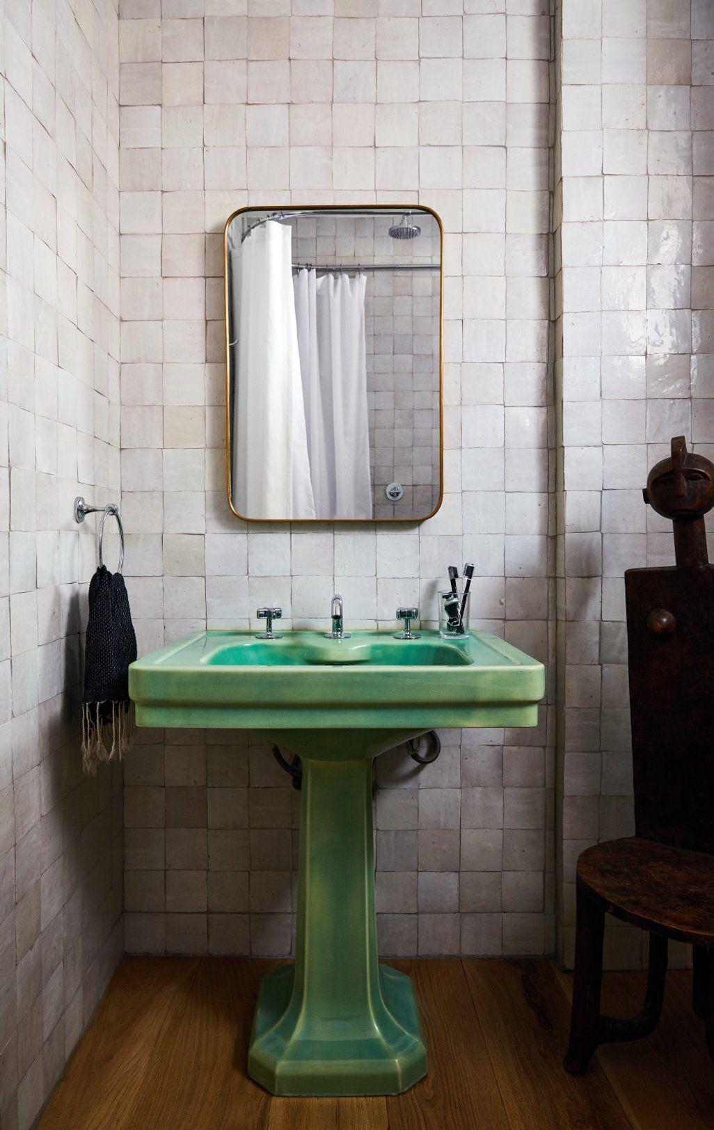 Bathroom by ASH NYC on 1stdibs#1stdibs #ash #bathroom #nyc