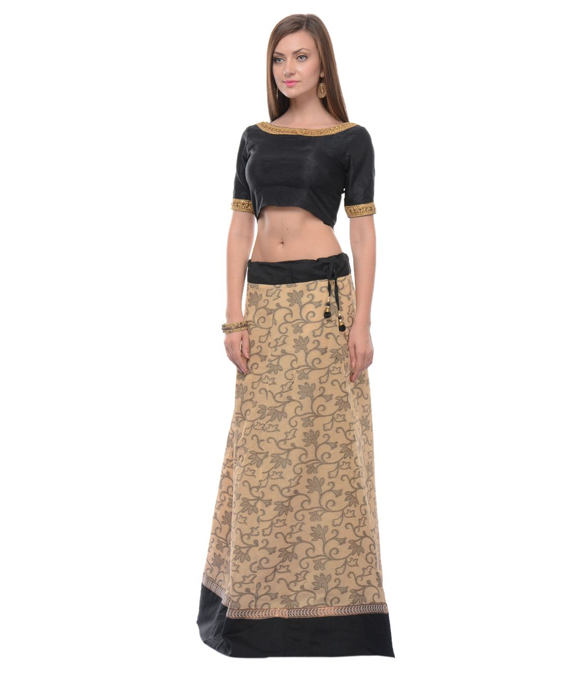 Buy brasso cotton long skirt online at best price in India | PLUME ...