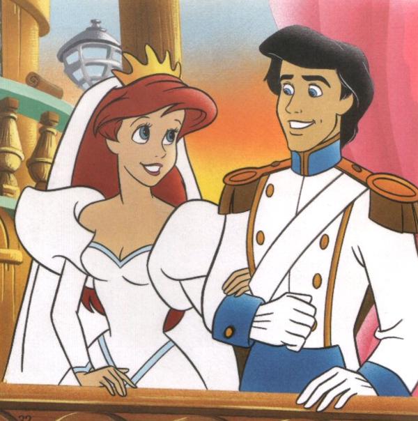 Ariel et son prince la petite sir ne princesses ariel la petite sir ne la petite - Petite princesse disney ...