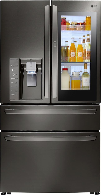 Lg S Instaview Door In Door Refrigerators Bestbuy Lgus Ad Kuche